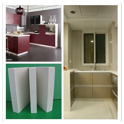 pvc foam board in high-density for cabinets