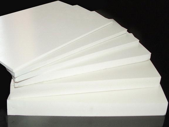 0.33g/cm3 density pvc foam board in white color