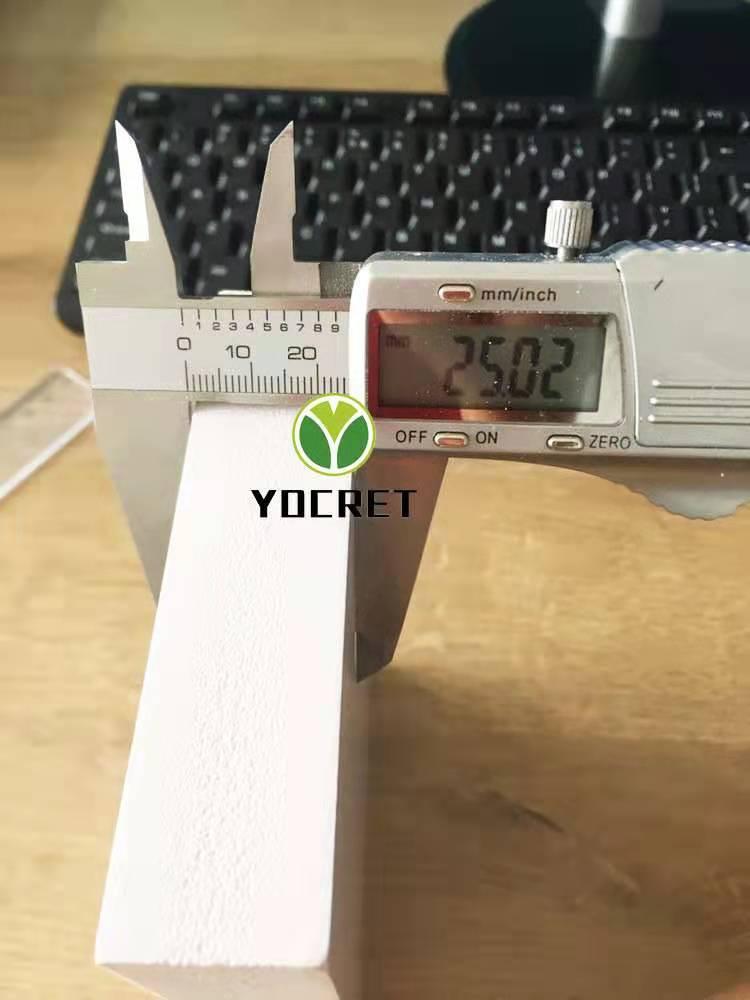 25mm pvc foam board in production